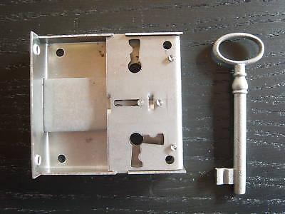 Möbelschloß-Kastenschloß-Aufsetzschloß wahlweise ab Dornmaß 15 bis100mm 3813