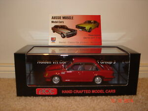 1:43 Peter Brock  HDT VH Commodore SS Group 3 Red LTD 300 Only A9X VK VL Group A