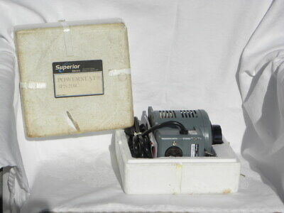 Superior Electric Powerstat 3pn216c Variable Transformer Nib 4