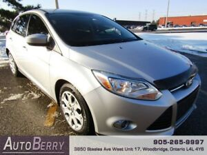 2012 Ford Focus SE **CERTIFIED ACCIDENT FREE 1 OWNER** $5,999