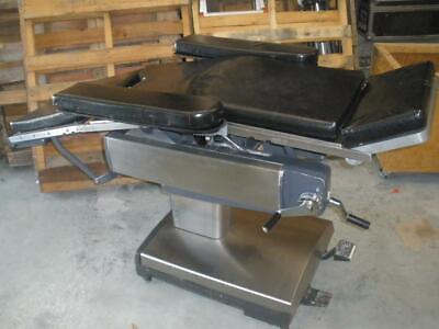Steris Amsco 2080 Be-56-727 Manual Surgery Surgical Table