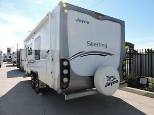 "2012 21'6"" Jayco Sterling Outback Slide Out Caravan Craigieburn Hume Area Preview"