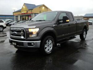 2016 Ford F-150 XLT SuperCab 4X4 5.0L 8ft Box