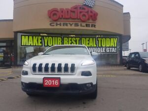 2016 Jeep Cherokee North PANO ROOF LEATHER TRAILER TOW H-TED WHE