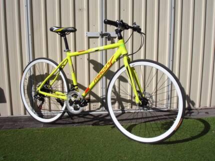 White wheels Yellow Bike