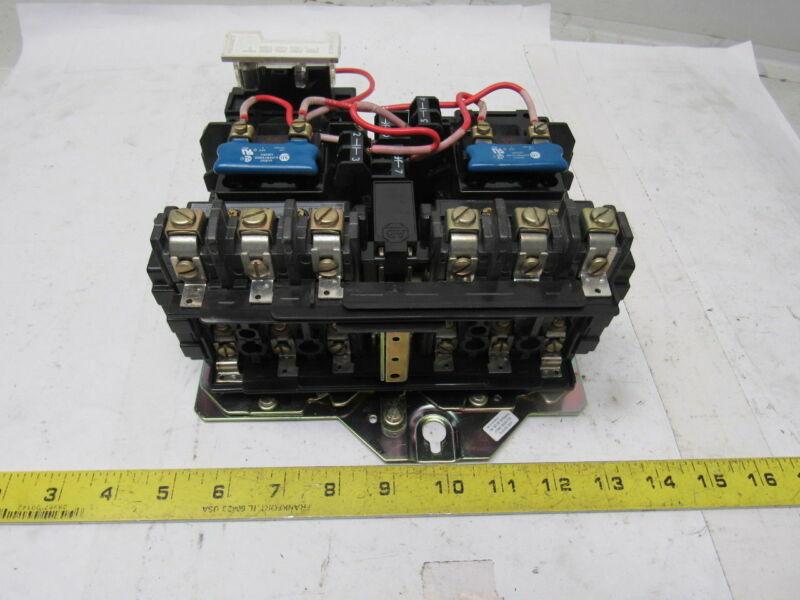 A-B Allen Bradley 505-BOD-A2E Full Voltage Reversing Starter 110/120V NEMA 1
