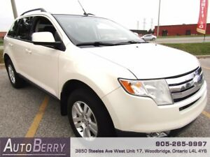 2008 Ford Edge SEL AWD **ACCIDENT FREE ONE OWNER CERTIFIED**