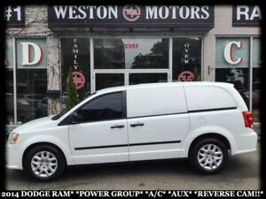2014 RAM Cargo Van POWER GROUP*A/C*AUX*REVERSE CAM!!*