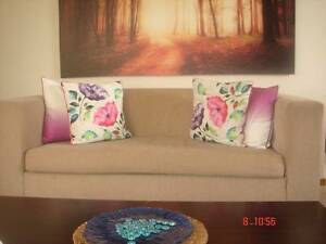 Sofa with tea table, side table, otoman and TV unit. Mowbray Launceston Area Preview
