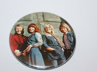 Abba Group Photo Badge Music Collectable (Lot 10)