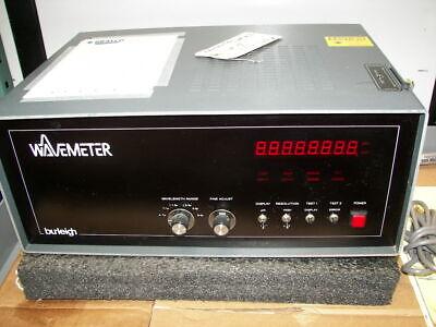 Burleigh Wavemeter Wa-10 Pulsed Wavemeter He-ne Laser Spectra Physics
