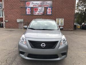 2012 Nissan Versa Sedan 1.6 ONE OWNER/NO ACCIDENT - SAFETY/WARRA