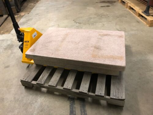 "Granite Surface Plate, Pink,30"" x 48"" x 6"""