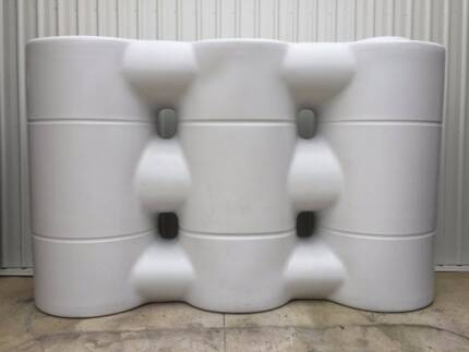 5500 litre Slimline rain water tank