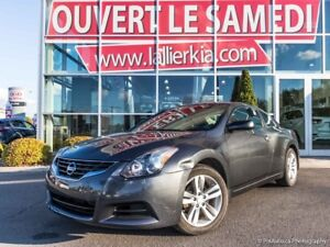 2013 Nissan Altima COUPE 2.5 S CUIR TOIT OUVRANT OPEN ON SATURDA