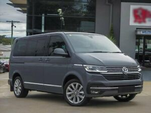 2021 Volkswagen Multivan T6.1 MY21 TDI450 SWB DSG Highline Grey 7 Speed Sports Automatic Dual Clutch