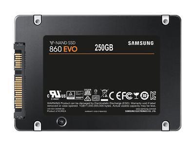 Samsung 860 EVO 250GB 2.5-Inch SATA III Internal SSD (MZ-76E250E) NEW MODEL