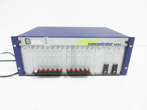 MINERVA NETWORKS 8000 VIDEO CONCENTRATOR // VC8000-AC VCC-ENC VCC-100