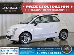 2012 Fiat 500 lounge CONVERTIBLE --CLEARANCE-- La bella vita..!