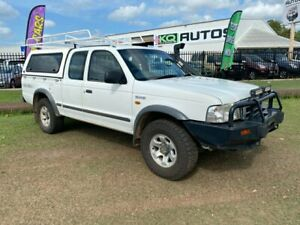 2004 Ford Courier PG XL Super Cab White 5 Speed Manual Utility Durack Palmerston Area Preview
