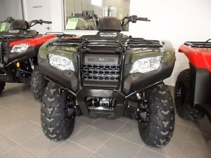 2017 Honda TRX420FM1 $36.45 WEEKLY! NEW HONDA ATV, FUEL INJECTED