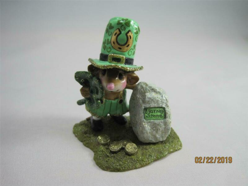 Wee Forest Folk Lucky Blarney! Limited Edition from 2012 - M-319a WFF Box