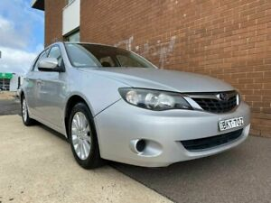 2009 Subaru Impreza MY10 R (AWD) Silver 4 Speed Automatic Hatchback Phillip Woden Valley Preview