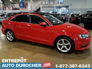 2015 Audi A3 1.8T Komfort TOIT OUVRANT - A/C - CUIR - - Heated
