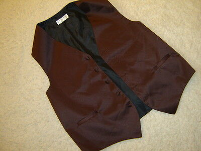 Sherlock Holmes steampunk suit vest brown satin lining  M 42 C (Steampunk Suit)
