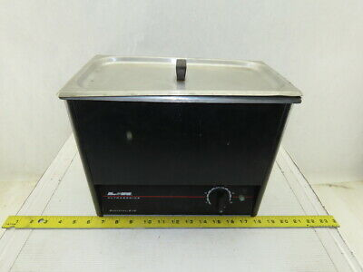 Lr Quantrex 210 Ultrasonic Cleaner Parts Washer Drain Lid 5.7l Capacity Tested