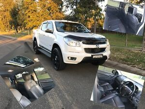 HOLDEN COLORADO LTZ 4x4 VERY LOW KMs IMMAC COND SUNROOF CUSTOM LEATHER Green Valley Liverpool Area Preview