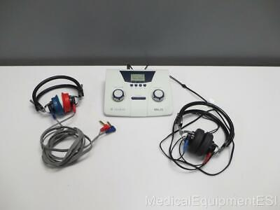 Maico Ma-25 Portable Audiometer Dd45 Wilfan Headset With Warranty