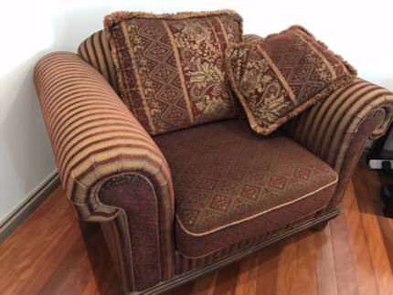 Far Pavillion 1.5 Seat Sofa.  Very large and comfortable.  As new