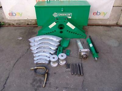 Greenlee 885 Hydraulic Bender 1 14 To 5 Inch Rigid Pipe Works Great 3