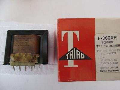 Triad Transformer F-362xp Dual Sec 10 Or 20 Vct .5 Or 1 Amp Primary 115-230 V