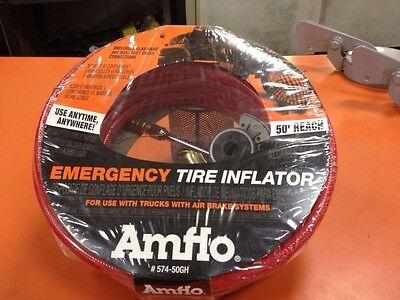 Air Brakes Trucks - Amflo Emergency Tire Inflator 50' 574-50gh Air Brakes Tractor Trailer Trucks