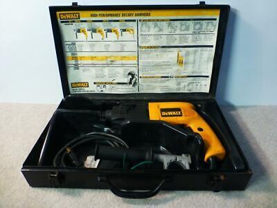 Dewalt Dw52358 Sds Rotary Hammer Drill Corded 120 Volt Ac 5.5 Amp W Case