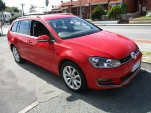 2015 Volkswagen Golf VII MY15 110TDI DSG Highline Red 6 Speed Sports Automatic Dual Clutch Wagon West Perth Perth City Area Preview