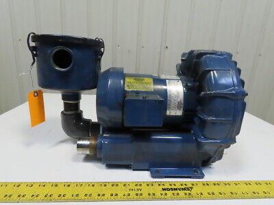 Gast R4310a-2 Regenair Blower Vacuum 1hp 3450rpm 208-230460v 3ph