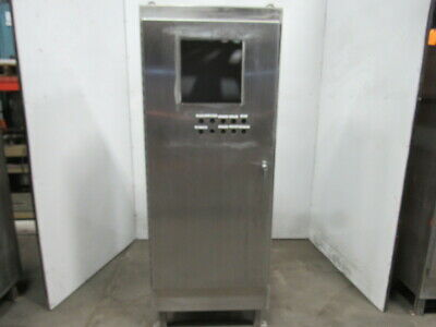 Hoffman A723018ssfs Stainless Steel Electrical Enclosure 72x30x18 Wbackplate