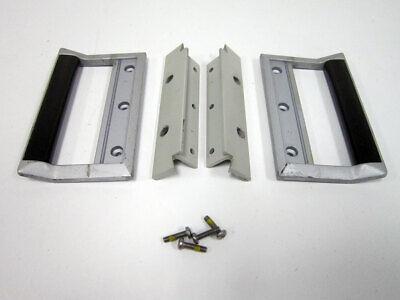 Set Hp 5.25 3u Rack Mount Shiny Grey W Handle From 3325a Test Equipment