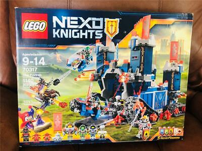 New/Sealed Lego Nexo Knights 70317 The Fortrex Castle Fortress Retired Set