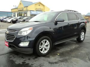 2016 Chevrolet Equinox LT AWD 2.4L RemoteStart HeatedSeats BackU