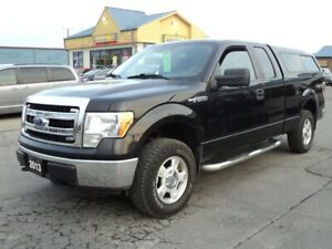 2013 Ford F-150 XLT SuperCab 4X4 5.0L 6.5ft Box
