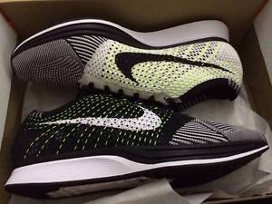 Nike Flyknit Racer Black/White/Orca/Volt US11 Fairfield Fairfield Area Preview