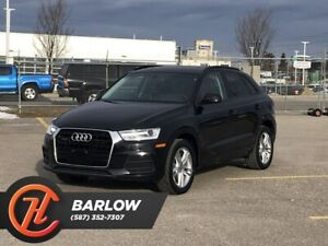 2017 Audi Q3 2.0T Komfort / Heated leather seats / Sunroof