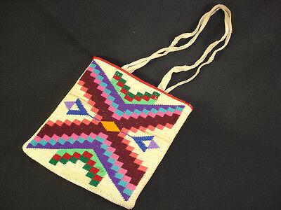 A Plateau Corn-husk Bag, Native American Indian, Circa: 1925