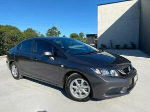 2015 Honda Civic 9th Gen Ser II MY15 VTi Grey 5 Speed Sports Automatic Sedan Cooroy Noosa Area Preview
