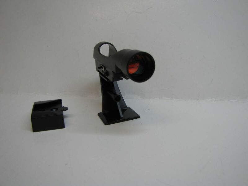 Red Dot Telescope Viewfinder Finder With Dovetail Mount Bracket Ruby Coated Lens