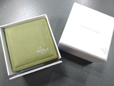 Authentic Van Cleef Arpels Suede Bracelet Small Jewellery Box With Outer Box